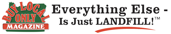 Buy Local Only Magazine – Everything Else Is Just Landfill Retina Logo